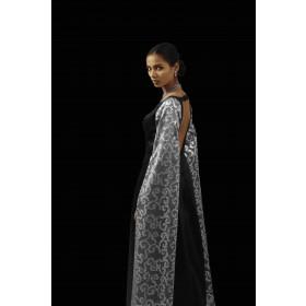 Paan Daan floored sleeves gown