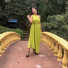 T19 Lucknowni Cowl Dress