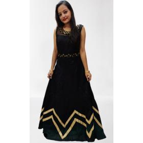 Black Night Gown