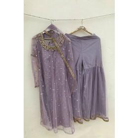 Lavender Shahrara set