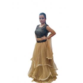 2 Piece Flared Dress