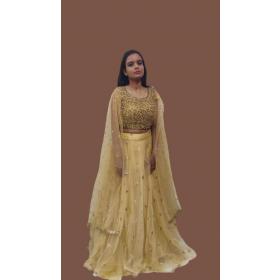Indo western Sequin Dress