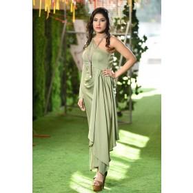 Zena drape dress